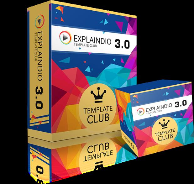 explaindio template club