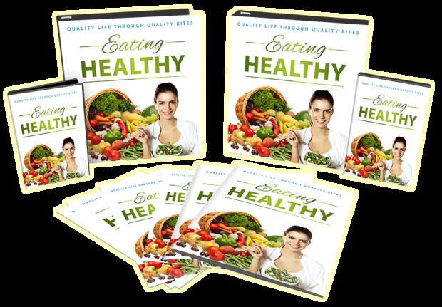 Eating Healthy PLR by Yu Shaun