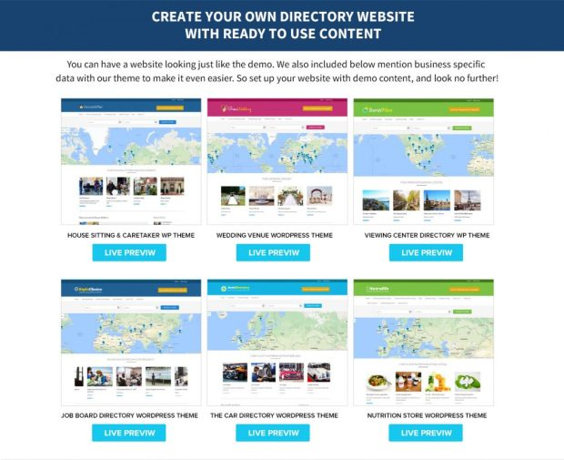 GeoCraft - WordPress Directory Solution by Neeraj Agarwal