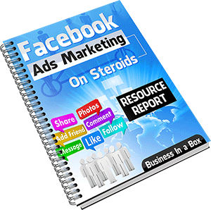 Facebook Ads Marketing On Steroids – PLR by Simon Macharia