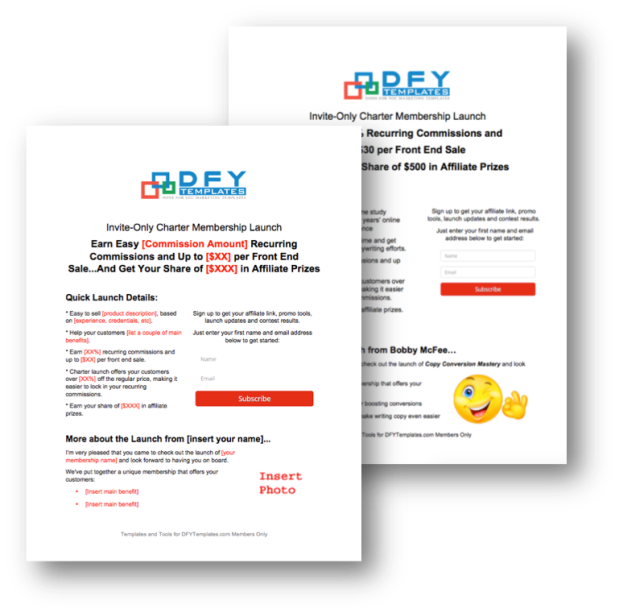 DFY Templates - Personal Use Subscription by Elite Writers Lab