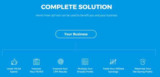 UpTrack by Alex C Benefit