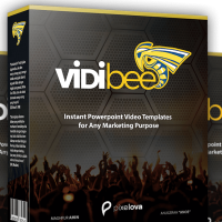 Vidibee by Maghfur Amin Review-Instant Video Templates for Any Marketing Purpose Using Nothing But Only Ms. Powerpoint. Now You Can Create Stunning and Engaging Animated Video By Your Own Hands.