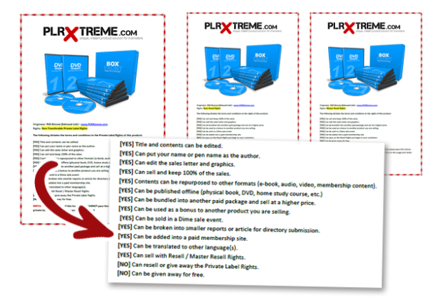 plrxtreme-licenses
