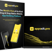 AppsKitPro Personal by Madhav Dutta and Dr. Sameer Joshi Review – The World's First if Its Kind Drag and Drop Native Mobile App Building Platform. Create for Online Entrepreneur and Local Businesses.